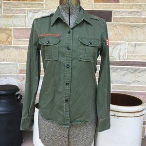 Polo Military Inspired Shirt